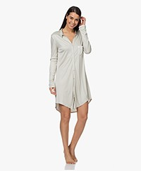 HANRO Grand Central Boyfriend Nightshirt - Sea Foam