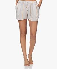 HANRO Sleep & Lounge Pyjamashort - Safari Stripe