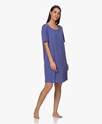 HANRO Cotton Deluxe Jersey Nightshirt - Wisteria