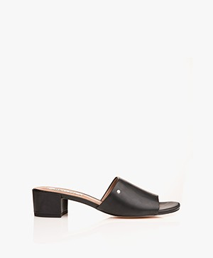 Matt & Nat Tibi Mules - Black