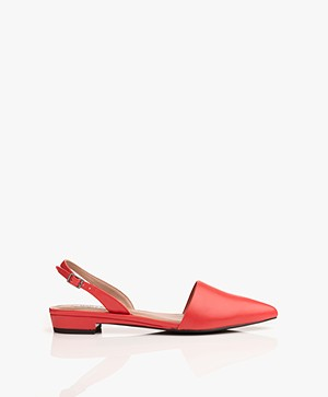 Matt & Nat Cory Sling Back Sandals - Red
