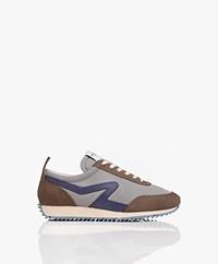Rag & Bone Recycled Retro Runner Sneakers - Morado Grey