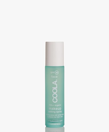 COOLA Make-Up Setting Spray Organic Sunscreen SPF 30 - Water Resistant