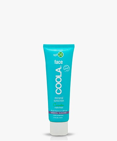 COOLA Mineral Face Sunscreen Lotion SPF 30 - Cucumber