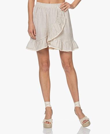 Resort Finest Lucia Linen Skirt - Warm Sand