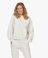 Drykorn Renesme Katoenen Sweatshirt - Off-white