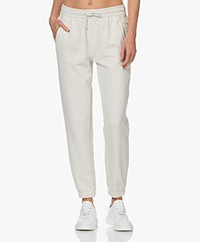 Drykorn Once French Terry Katoenen Sweatpants - Off-white