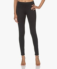 Majestic Filatures Soft Touch Jersey Legging - Antraciet Mêlee
