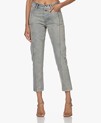 IRO Belfroy High-rise Jeans - Light Blue Worn