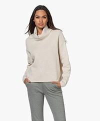 Sibin/Linnebjerg Brazil Merino Wool Blend Turtleneck Sweater - Kit