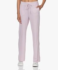 JapanTKY Myza Straight Travel Jersey Pants - Lila