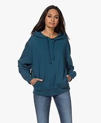 Denham Deborah French Terry Hooded Sweater - Legion Blue