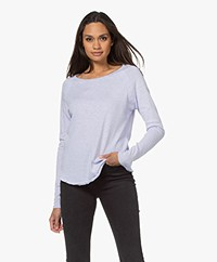 American Vintage Sonoma Slub Sweatshirt - Lilac