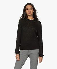 Filippa K Felicia Mohair-Wool Blend Sweater - Dark Spruce