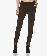 Woman by Earn Bobbi Punto di Roma Slim-fit Pants - Black