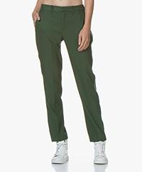 Zadig & Voltaire Pomelo Band Pants with Grosgrain Piping - Officier