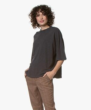 American Vintage Jamostate T-shirt - Vintage Carbon