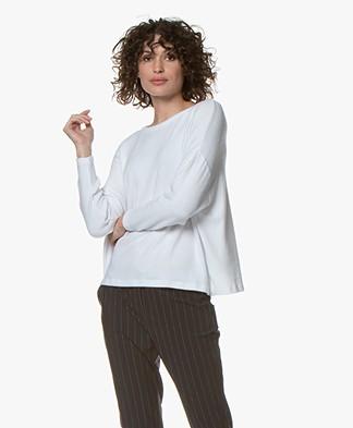 American Vintage Vetington Fleece Sweatshirt - White