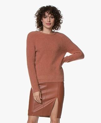 Marie Sixtine Elora Mohair Blend Sweater - Rotin