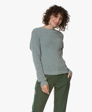 BY-BAR Mo Mohair Blend Pullover - Sage
