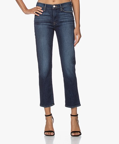 FRAME Le High Straight Cropped Jeans - Allesandro