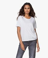 American Vintage Sonoma Boxy T-shirt - Wit