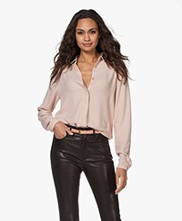 by-bar Jonna Neblina Viscose Blouse - Frost Rose