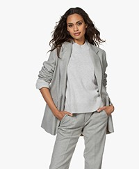 Drykorn Glendale Sustainable Wool Blend Blazer - Grey
