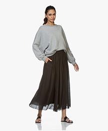 American Vintage Lokobridge Sweatshirt - Grijs Mêlee