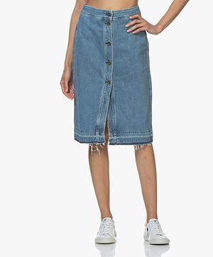 Rag & Bone Vintage Denim Rok - Heartwood