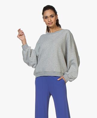 American Vintage Lokobridge Sweatshirt - Grey Melange
