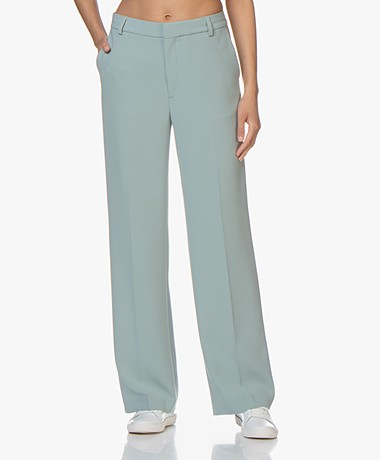 Filippa K Hutton Crêpe Pantalon - Mint Powder