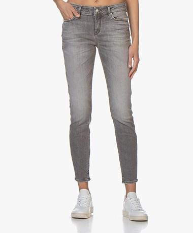 Drykorn Need Stretchy Skinny Jeans - Gewassen Grijs