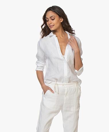 Josephine & Co Bodhi Linen Shirt Blouse - White