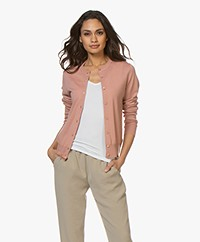 Filippa K Merino Kort Vest - Antique Rose