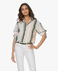 Closed Aloise Striped Shirt - Peony