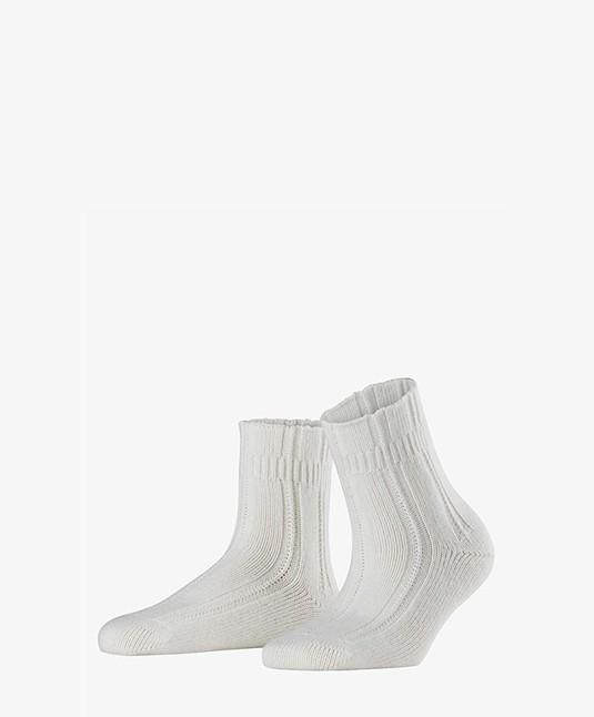 FALKE Utra-zachte Bedsokken - Off-white