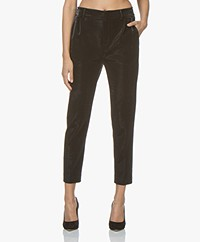 Drykorn Find Lurex Jersey Pants - Black