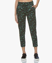 Drykorn Now Jacquard Pants - Black