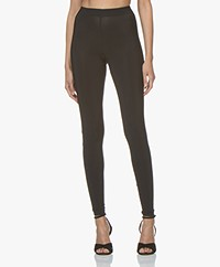 Woman by Earn Whitney Tech Jersey Leggings - Black