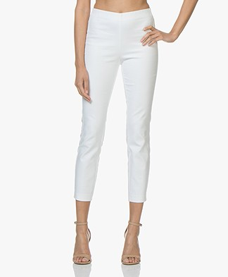 Rag & Bone Simone Slim-fit Broek - Wit