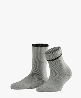 FALKE Cuddle Pads Non-slip Socks - Silver