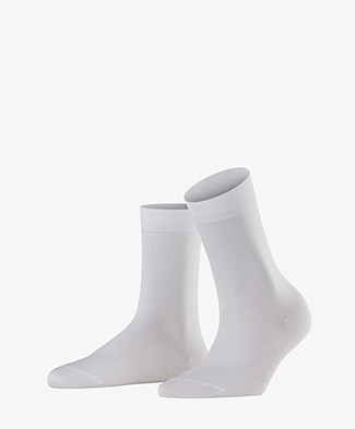 Falke Cotton Touch Women Socks - White