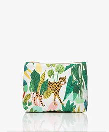 &Klevering Bodil Make-up Tas met Print - Leopard