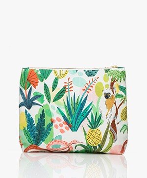 &Klevering Bodil Large Toiletry Bag with Print - Sloth