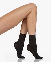 Wolford Aurora Cradle-to-Cradle 70 Denier Socks - Black