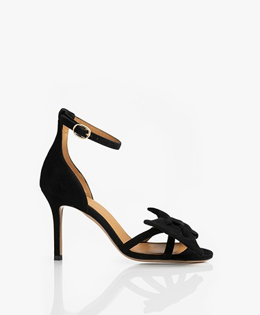 Jerome Dreyfuss Isabelle Heeled Sandals - Black