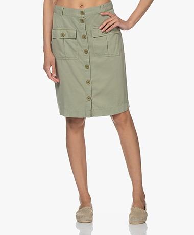 Josephine & Co Livia Tencel Blend Skirt - Palmleaf