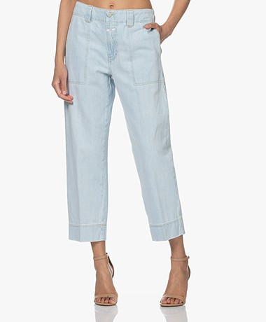 Closed Josy Cropped Jeans - Lichtblauw