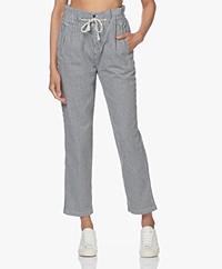 ba&sh Orsay Striped Paperbag Pants - Marine